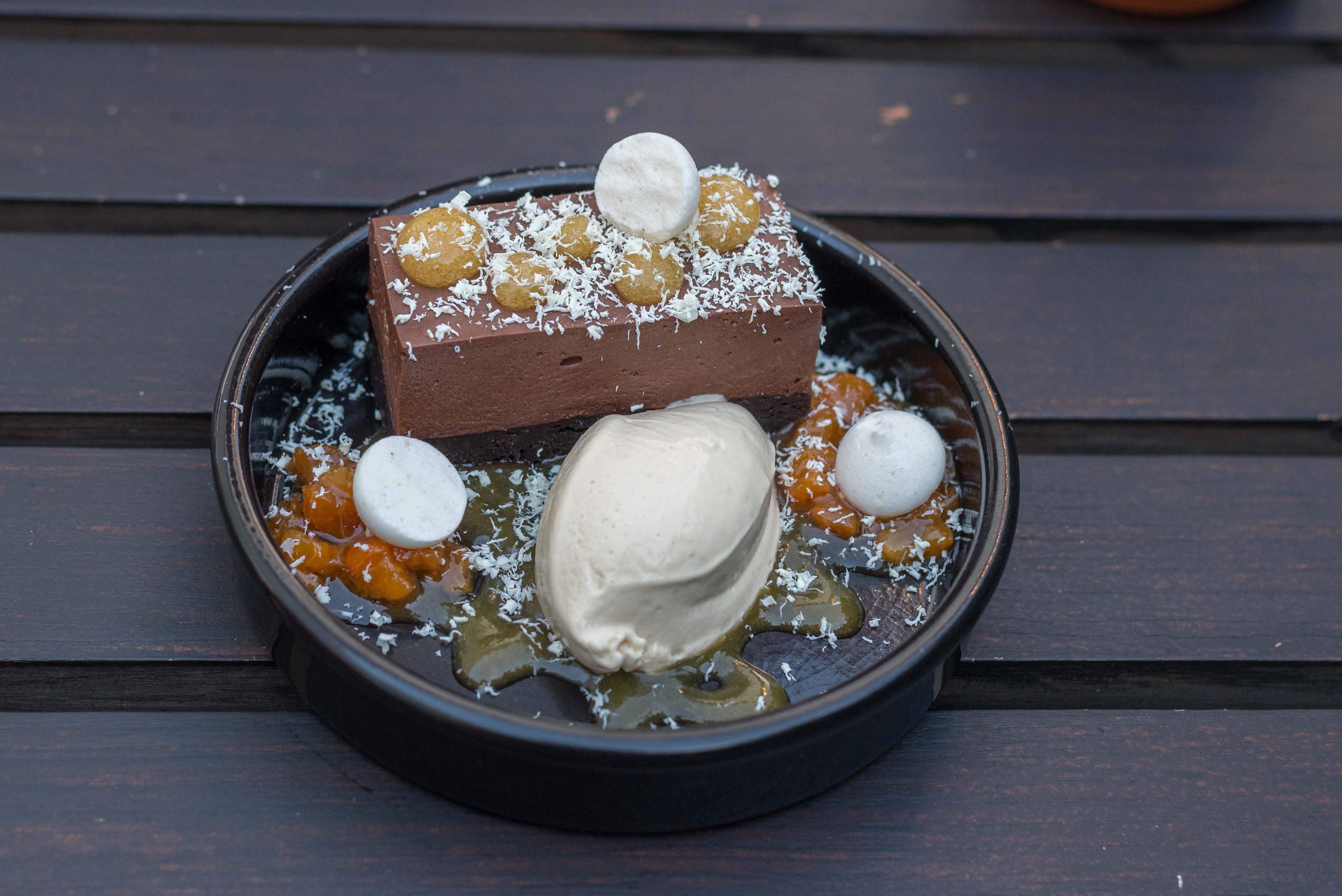 Schoko-Dessert
