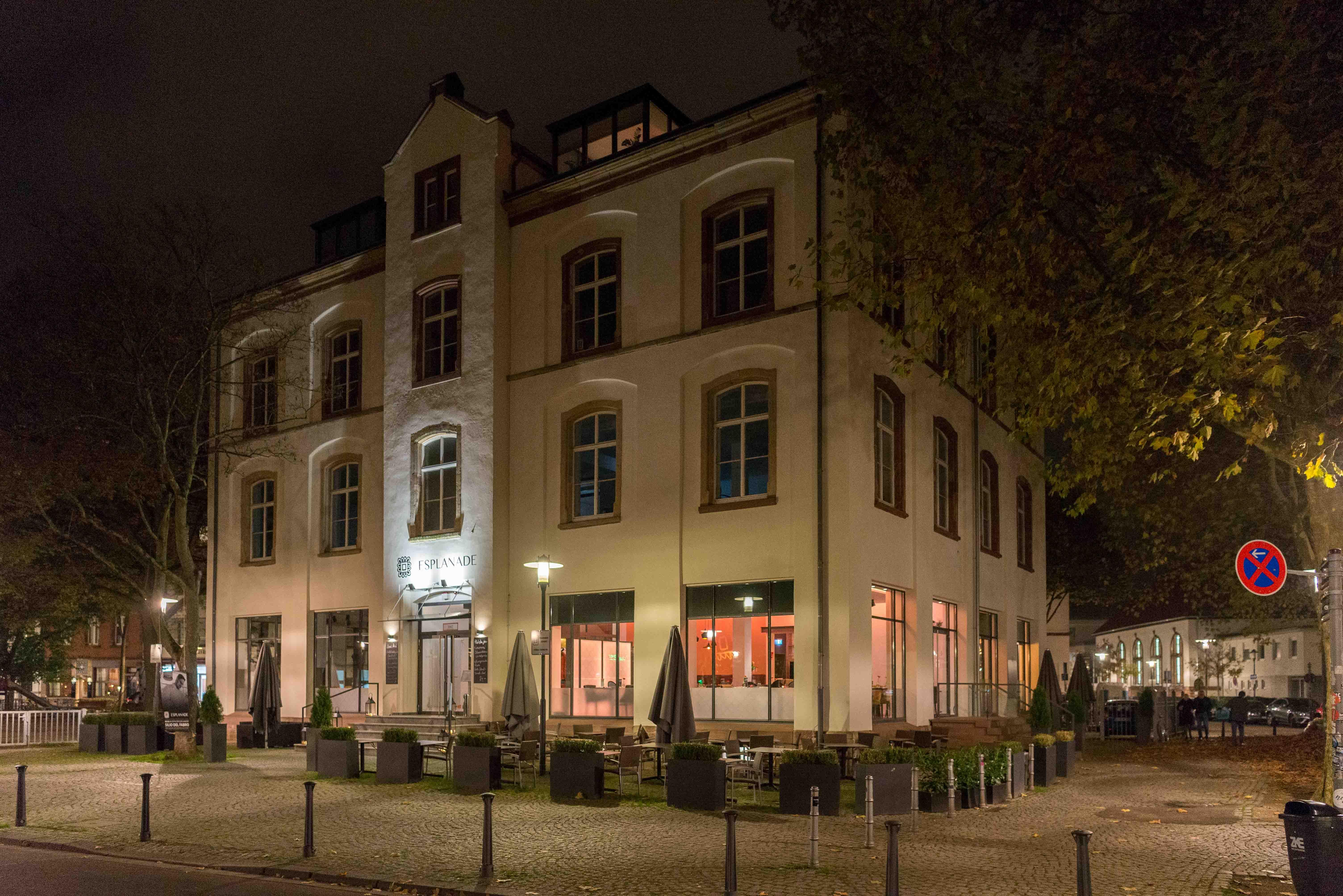 Restaurant Esplanade Saarbrücken: Außenansicht