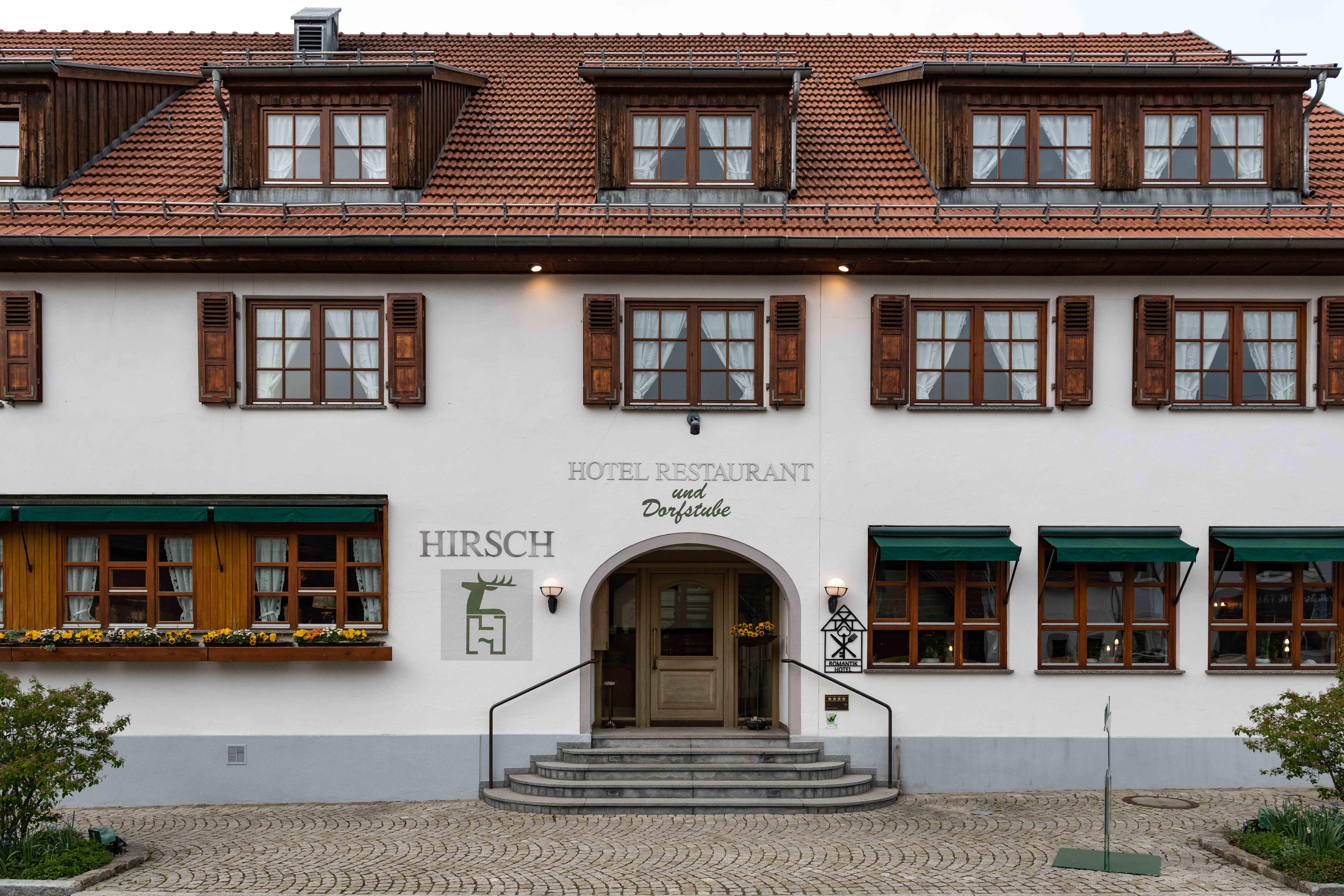 Restaurant Hirsch Sonnenbühl-Erpfingen Außenansicht