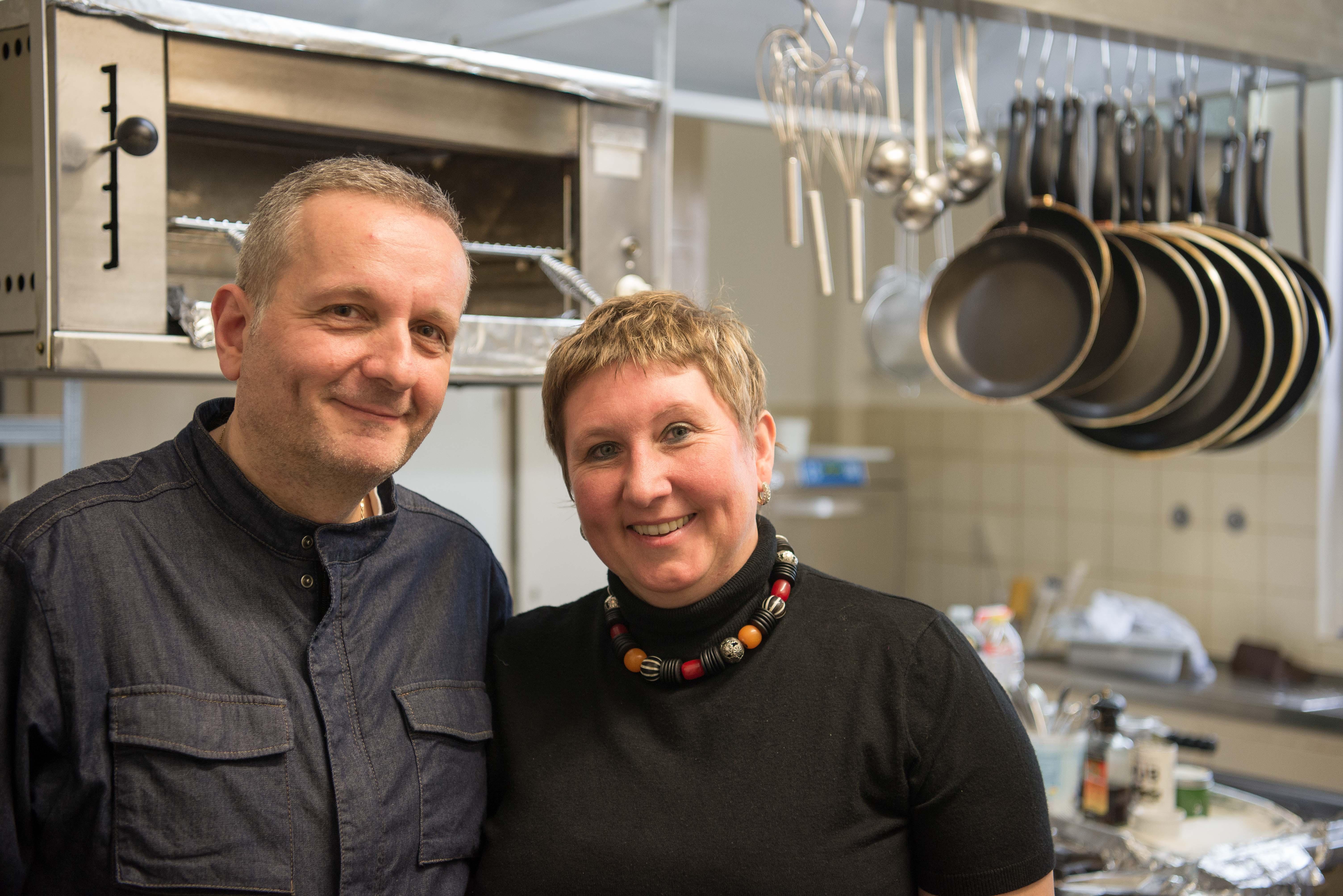 Restaurant Malathounis: Joannis und Anna Malathounis