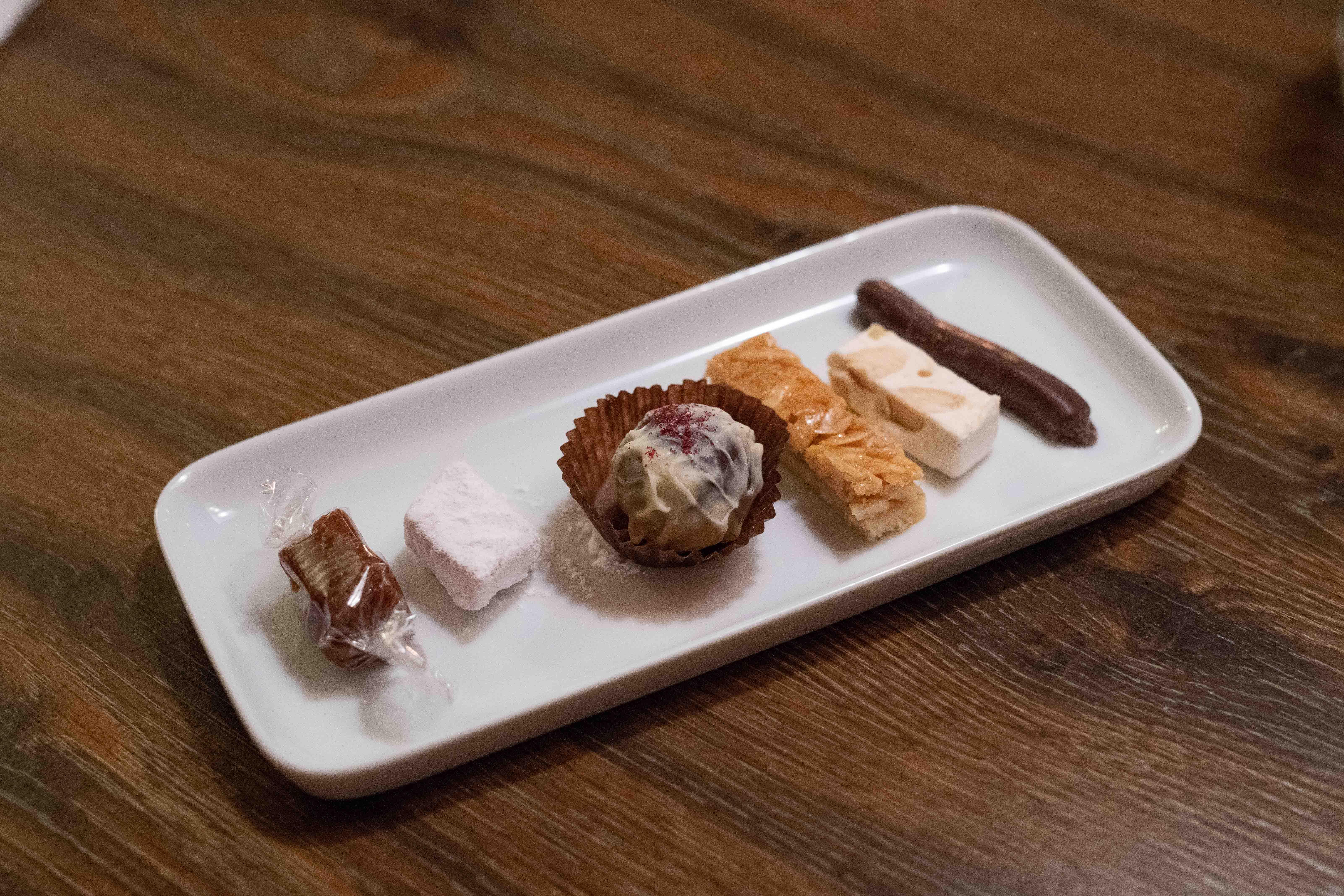 Restaurant Malathounis: Petits Fours